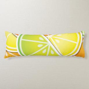 Lemon Lime Green Bed Body Pillows Zazzle