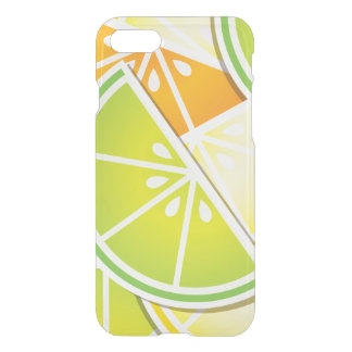 Funky citrus wedges iPhone 7 case