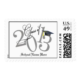Funky Class of 2013 Graduation Postage