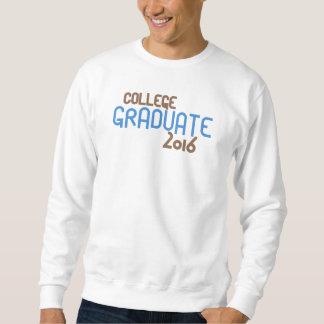 Funky College Graduate 2016 (Blue) Sweatshirt