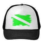 Funky Color Dive Flag Trucker Hat