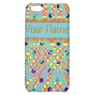 Funky, colorful, retro Iphone4/4s case Case For iPhone 5C