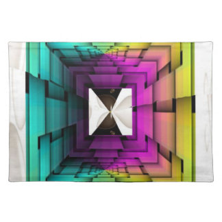 Funky Colors Cloth Placemat