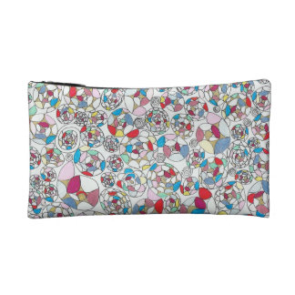 Funky colourful cosmetic bag