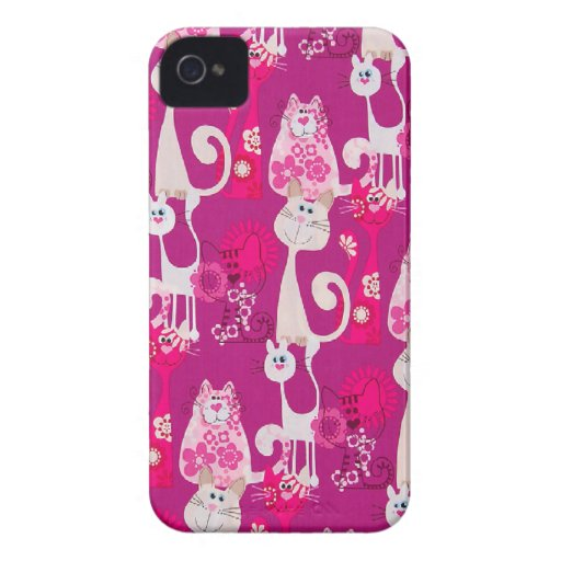 Funky Cool Cats Blackberry Bold Case-Mate