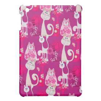 Funky Cool Cats  Cover For The iPad Mini