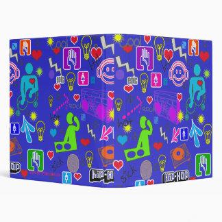 Funky Cool DJ Icons Custom Binder