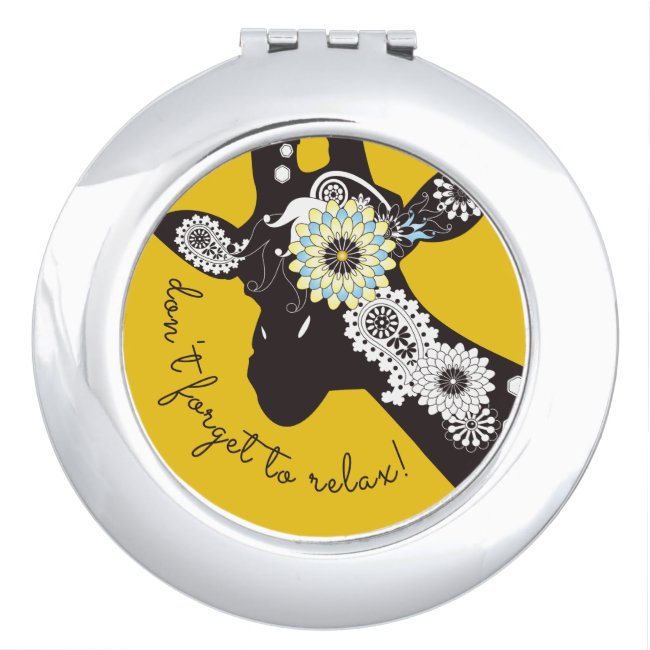 Funky Cool Funny Giraffe Yellow Custom