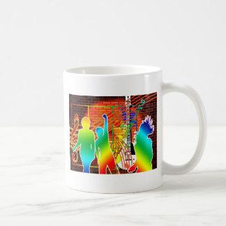 Funky Cool Music Dance Pop Art Design Mug