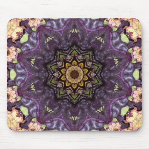 Funky, cool, psychedelic mousemat, mousepad