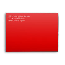 Funky Cow Print Red Envelope