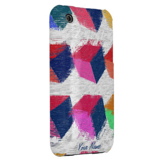 Funky Cubes iPhone 3G/3GS Case / Customize iPhone 3 Covers