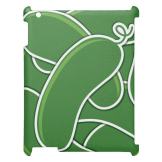 Funky cucumber cover for the iPad 2 3 4