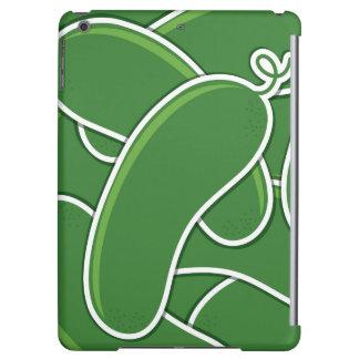 Funky cucumber iPad air cover