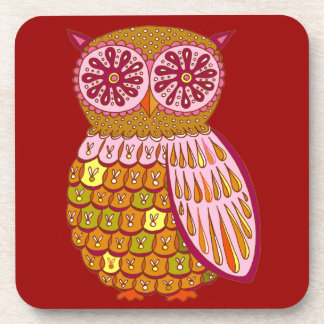 Funky Cute Owl Coasters - Set of 6