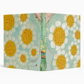 funky daisy butterfly binder