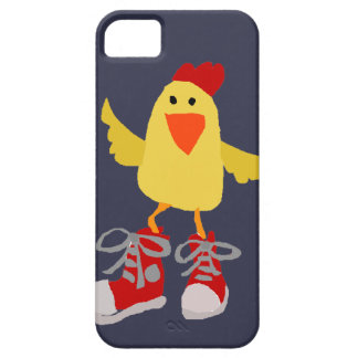 Funky Dancing Yellow Chicken iPhone SE/5/5s Case