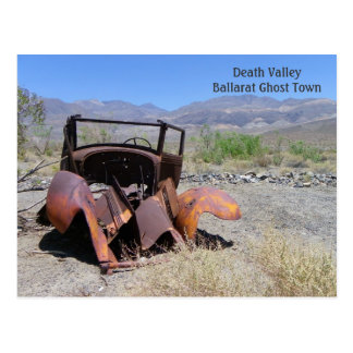 Funky Death Valley Postcard! Postcard