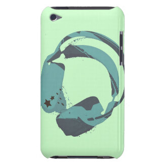 funky deejay earphone barely there iPod case