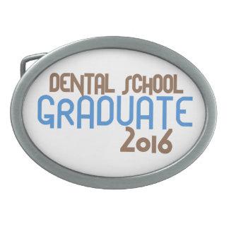 Funky Dental School Graduate 2016 (Blue) Belt Buckle