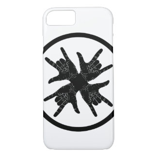 Funky design black n white case for iPhone 7.