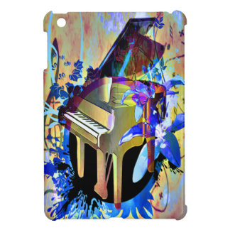 Funky Digitally Colored Piano Cover For The iPad Mini