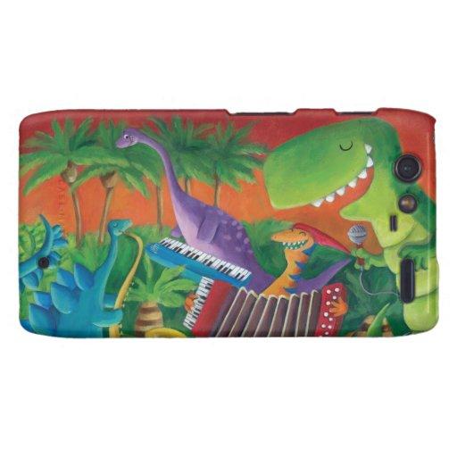 Funky Dinosaur Band Motorola Droid RAZR Cover