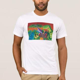 Funky Dinosaur Band T-Shirt