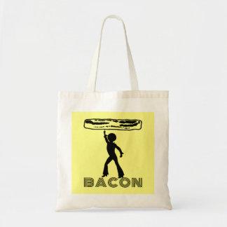 Funky Disco Bacon Tote Bag