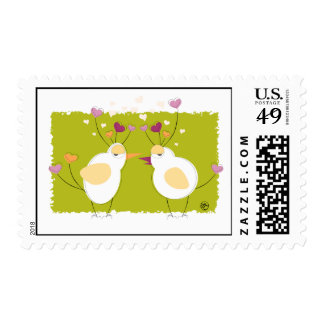 Funky Doves Postage