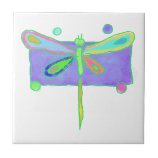Funky Dragonfly Tiles