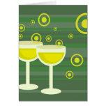 Funky Drinks Greeting Card