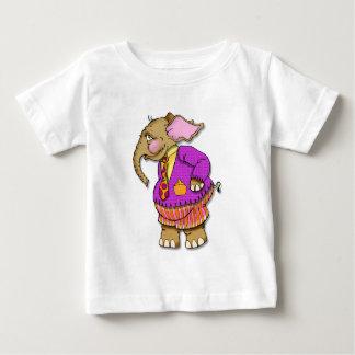 Funky Elephant Baby T-Shirt