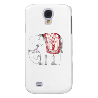 Funky Elephant Samsung Galaxy S4 Cover