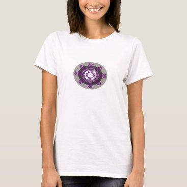 Beach Themed Funky Ethnic Design T-Shirt