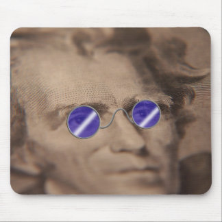 Funky Ex-president Mouse Pad