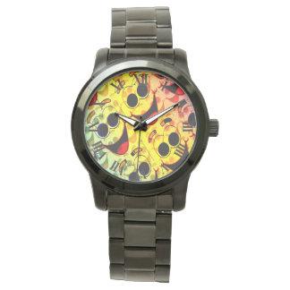 Funky Face Hasta Wristwatch