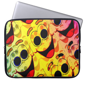 Funky Face Maggie Laptop Sleeve