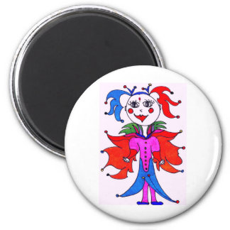 Funky Fairy 2 Inch Round Magnet