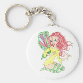 funky fairy keychain