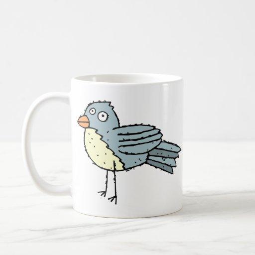 Funky Farm Bird Customizable Kids Coffee Mug