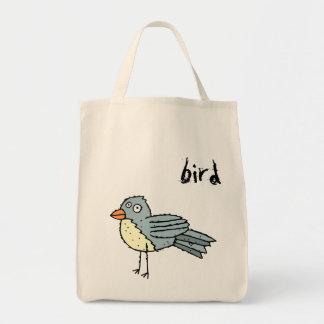 Funky Farm Bird Grocery Tote Bag