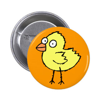 Funky Farm Chick Button