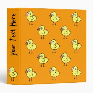 Funky Farm Chick Pattern Binder
