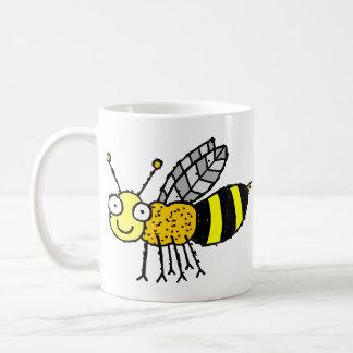 Funky Farm Honey Bee Customizable Kids Coffee Mug