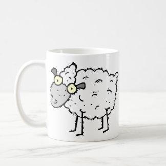 Funky Farm Sheep Customizable Kids Coffee Mug