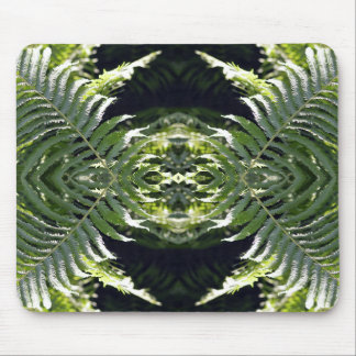 Funky Ferns Mouse Pad