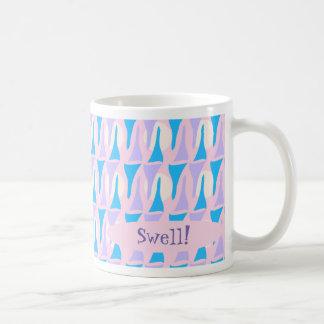 Funky Fifties Custom Pattern Coffee Mug