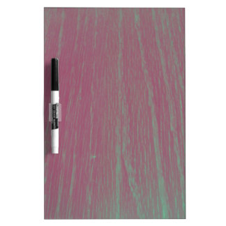 Funky Filter Wood Texture Photography Dry-Erase Board