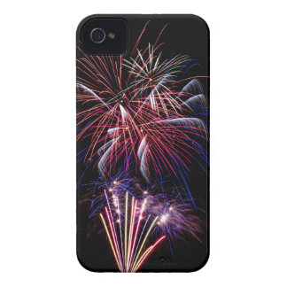 Funky Fireworks iPhone 4 Case-Mate Case